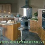 Tủ bếp, kệ bếp gia đình và những điều cấm kỵ trong phong thủy
